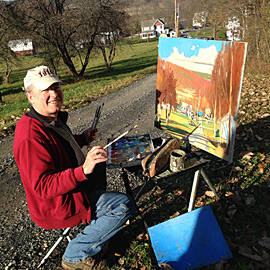 Painting in Sugar Run