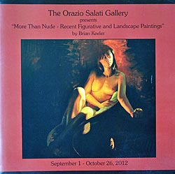 "The Orazio Salati Gallery presents ""More Than Nude - Recent Figurative and Landscape Paintings"""